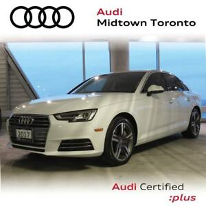 2017 Audi A4 2.0T Technik quattro w/ Ventilated Front Seats|B&O