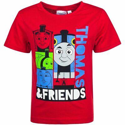 Thomas und seine Freunde Jungen T-Shirt rot