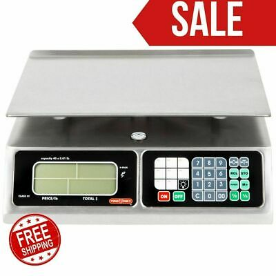Torrey Lpc-40l 40lb Portable Price Computing Scale Ntep Legal Usanew Limitted