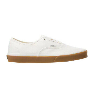 """Vans """"Authentic"""" Canvas Sneakers (Marshmallow/Gum) Men's Skate Shoes"""