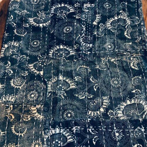 Japan Vintage Antique Kimono Old Cloth Indigo BORO Handmade A71