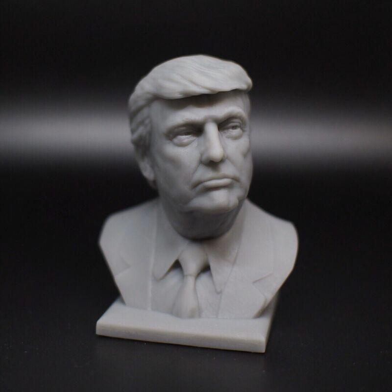 3D Printed Donald Trump Bust Trump 2020