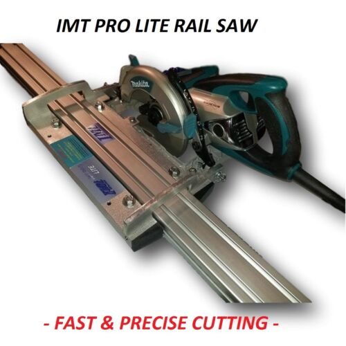 IMT PRO LITE Wet Cutting Makita Motor Rail, Track Saw for Granite- tool only