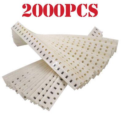 80 Value 0805 Smd Resistor Kit 1 Precision 10r-910k 80values X 25pcs 2000pcs