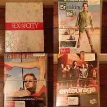 DVD Series: Sex a/t City, Californication, Entourage, M. of Sex North Perth Vincent Area Preview