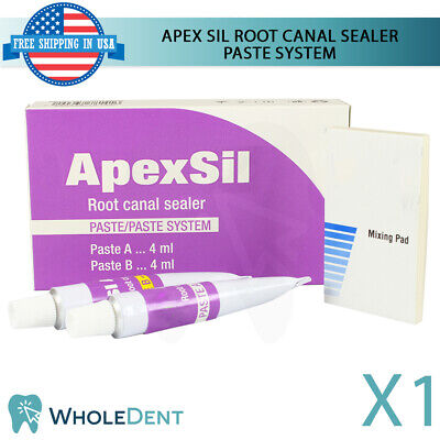 Apexsil Dental Root Canal Filling Sealer Paste Radiopaque Endodontic Tubes