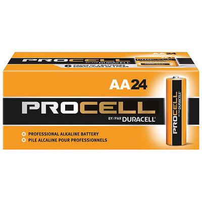 Duracell AA Standard Battery, Procell, Alkaline, PK24 - PC1500BKD