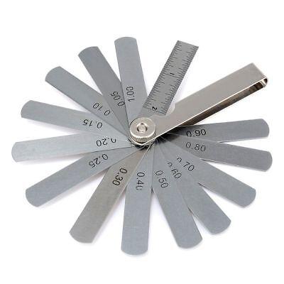 1 Set Dental Orthodontic Interproximal Reduction Ipr Gauge Ruler 0.10-0.50mm