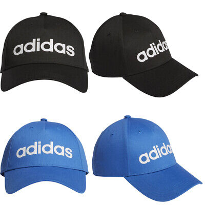 Adidas Cap Daily Black Blue Sports Football Baseball Unisex Men Women Adult