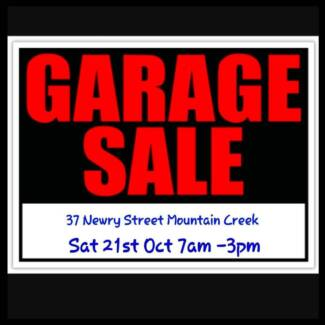 Big Garage Sale!!! 37 NEWRY STREET MOUNTAIN CREEK