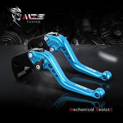 MZS Blue Short Clutch Brake Levers For Ducati MONSTER S2R 800 05-07 796 MONSTER