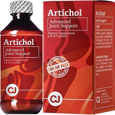Glucosamine Hcl, Msm (Glucosamine HCL-Choindritin-MSM ( 4 Oz ) Artichol LIQUID Joint Support )
