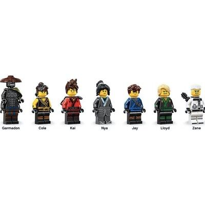 NEW Lego Set//4 MINIFIG HAIR Gr8 Lot 4 Ninjago Ninja Kai Jay Zane Cole Minifigure