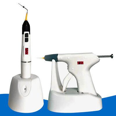 Endodontic Endo Dental Root Canal Gutta Percha Obturation Heated Pen Gun 3tip Ce