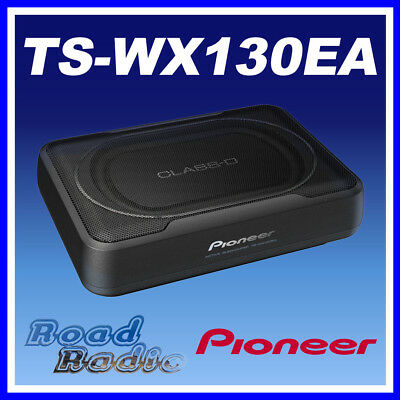 Pioneer TS-WX130EA Active Underseat Car Sub Box 160 Watts Subwoofer + Amplifier