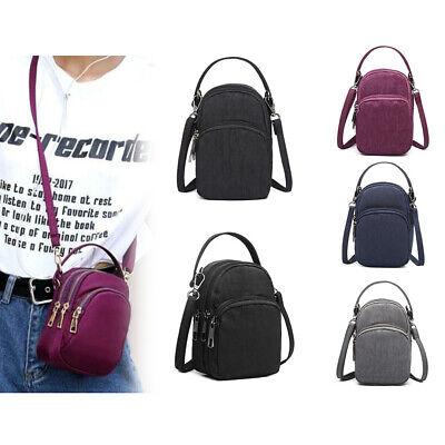 UK Mobile Phone Shoulder Bag Pouch Case Handbag Purse Wallet Ladies Cross-body