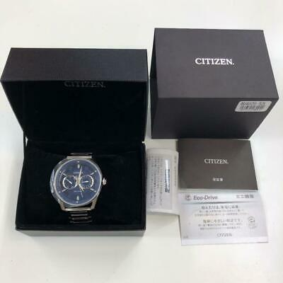 Citizen BU4020-52L Day Date Stainless Steel Box Eco-Drive Solar Mens Watch