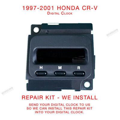 1997 1998 1999 2000 2001 Honda CR-V CRV Clock Repair Service to your unit only