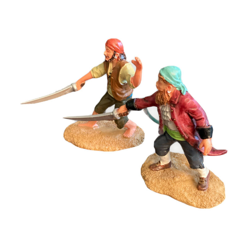 Lemax SWASHBUCKLERS Spooky Town Pirates Figures Halloween Decor Retired 72439