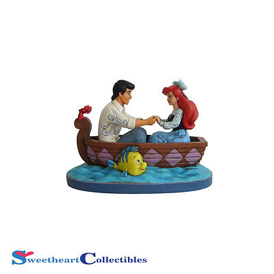 Jim Shore Disney Traditions Ariel and Prince Eric 4055414