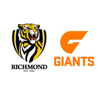 2x Richmond Tigers v GWS Preliminary Final tickets. 23 Sept