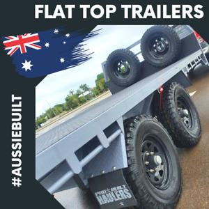 Aussie Built Off-Road Flat Top Trailers!! Garbutt Townsville City Preview
