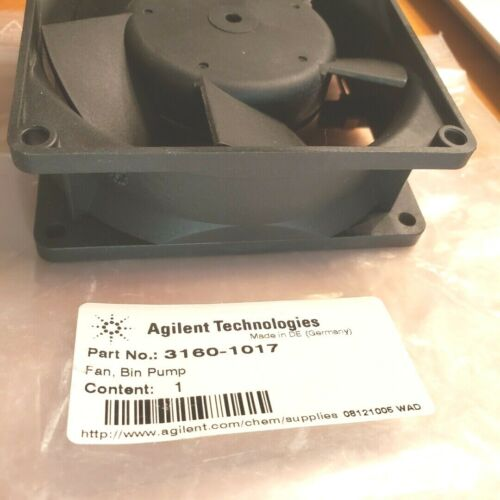 Genuine Agilent Multi Instrument / Module Cooling Fan Assembly Pt # 3160-1017