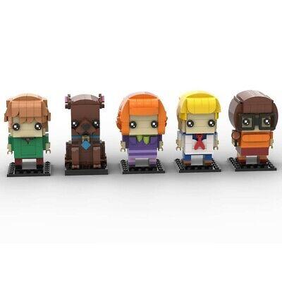 Lego Brickheadz - Scooby Doo Gang -MOC Creation - PDF INSTRUCTIONS ONLY