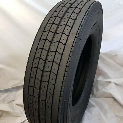 11r24.5 Trailer Tires 4-tires Road Crew Uble R100 New 14 Ply Tires