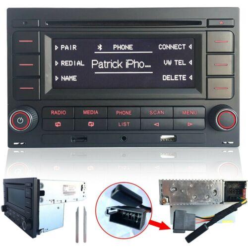 Autoradio RCN210 Bluetooth CD MP3 USB für VW Golf 4 MK4 Polo Passat B5