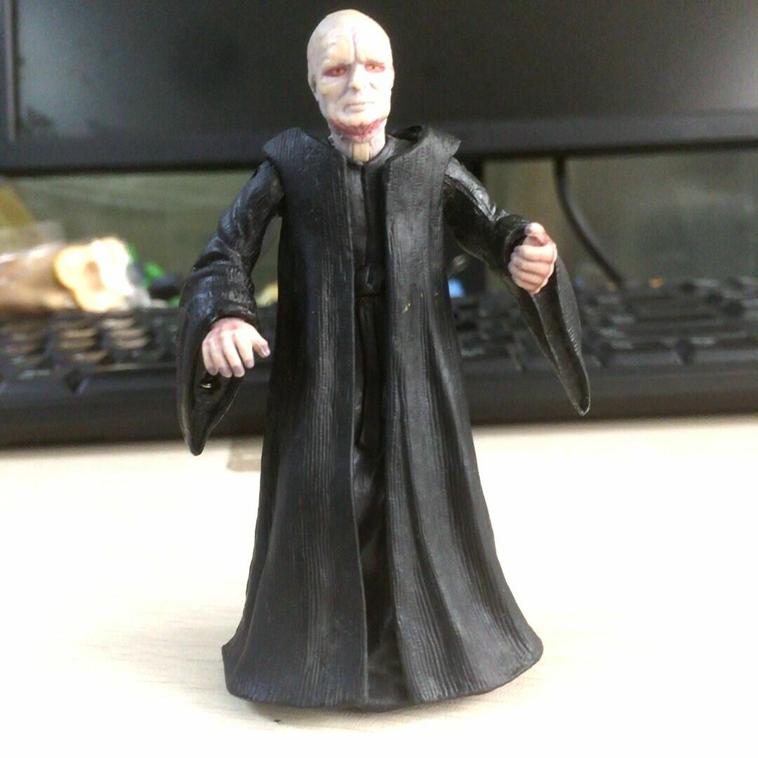 "3.75/"" Star Wars Black Series Emperor Palpatine 2004 LFL hasbro Figure toy gift"