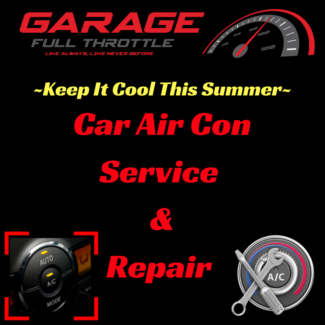 AUTOMOTIVE AIR-CONDITIONING - GARAGE FULL THROTTLE
