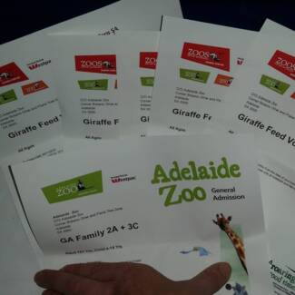 ADELAIDE ZOO TICKETS