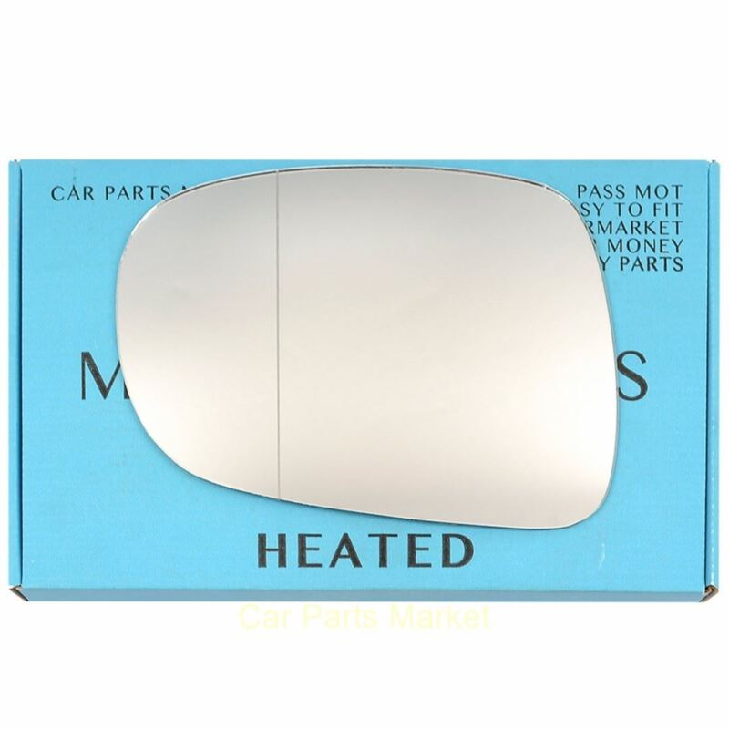 Left side Wide Angle Wing mirror glass for Lexus IS 220/250/350 2006-2013 heated