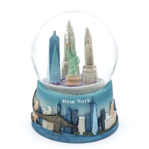 Snow Globe New York NY WTC Empire Brooklyn Collectors Item - DPRC Decoration