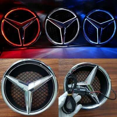 For Mercedes Benz 2006-2013 Illuminated LED Light Motor Front Star Grille Emblem