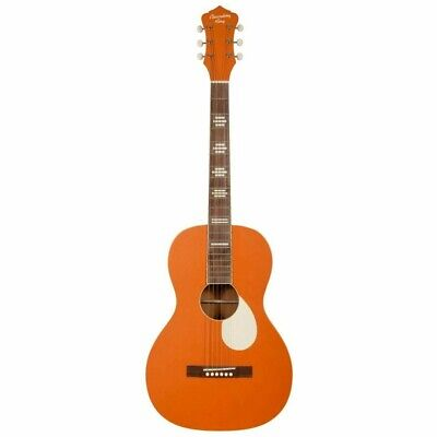 Recording King RPS-7-MOR Dirty 30s Series 7 Single 0 Acoustic Guitar, Orange