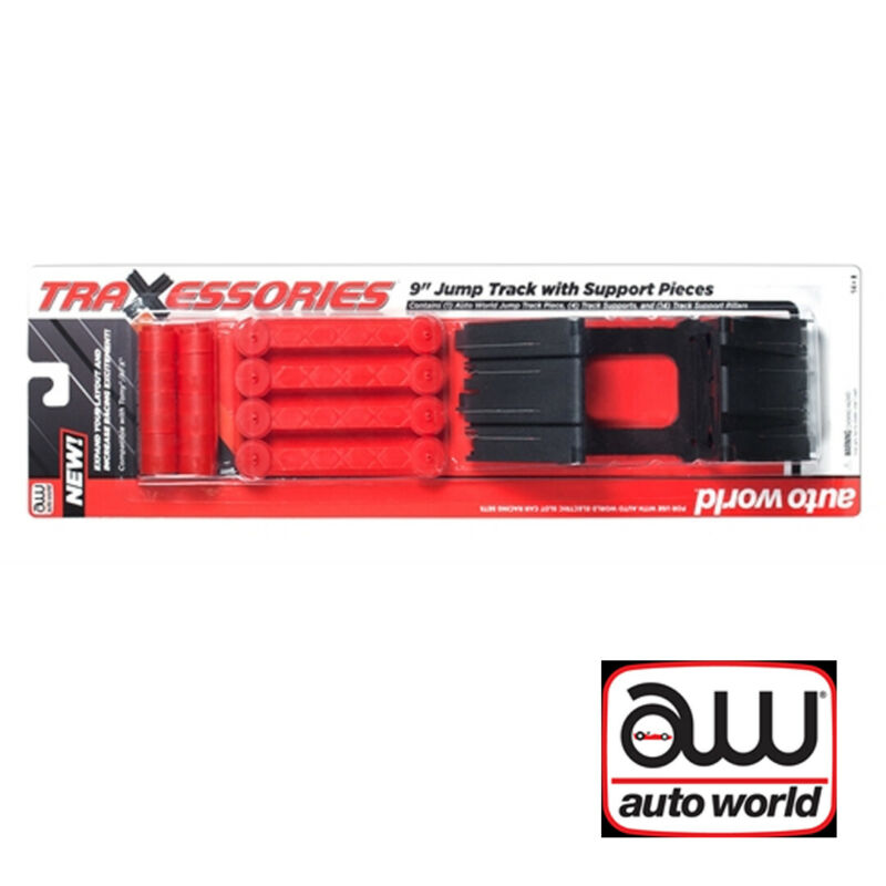 NEW Auto World TRX100 Jump Track w/Support Pieces HO Scale FREE US SHIP