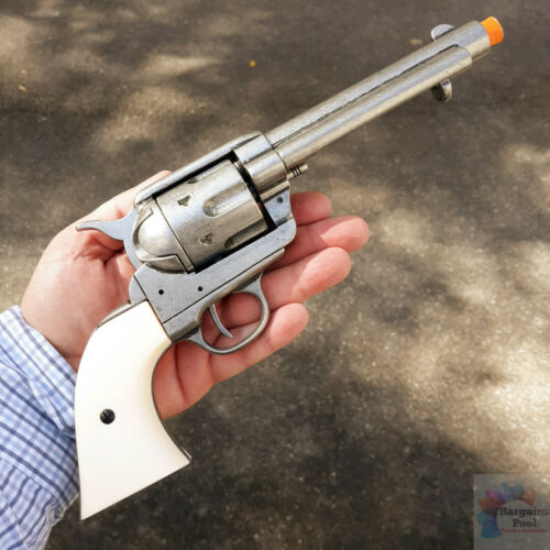 Denix 1873 Western Frontier Pistol Replica Gun Simulated Firing Museum Quality