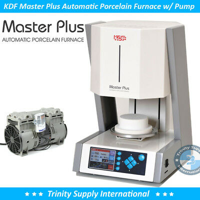 Kdf Master Plus Automatic Porcelain Furnace Oven Free Pump Dental Lab.
