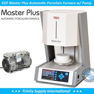 Kdf Master Plus Automatic Porcelain Furnace Oven Made In Japan W Pump Dental Lab