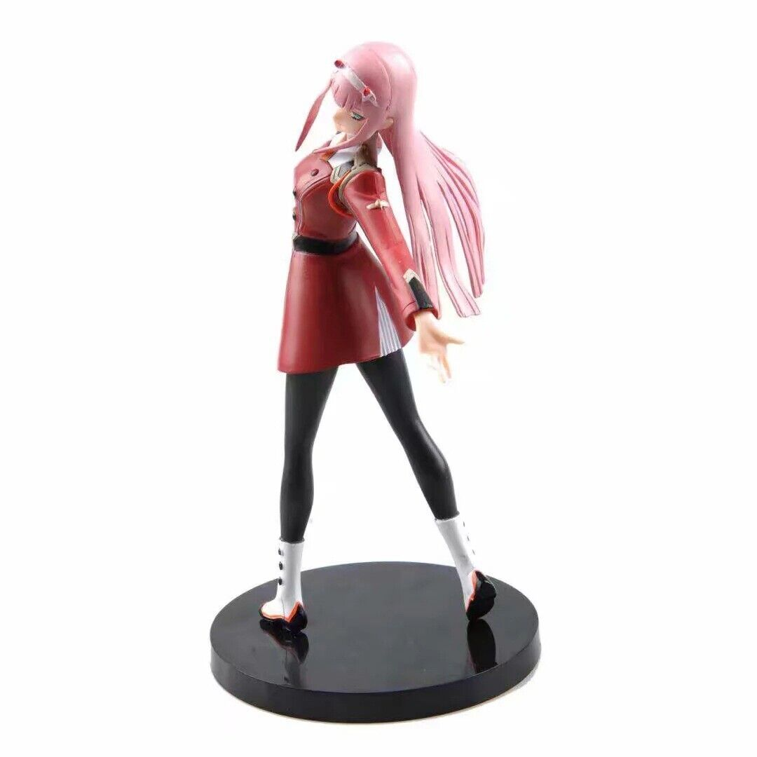 8″ Anime Darling in the Franxx Zero Two 02 Action Figure PVC Figurine Statue Toy Animation Art & Characters