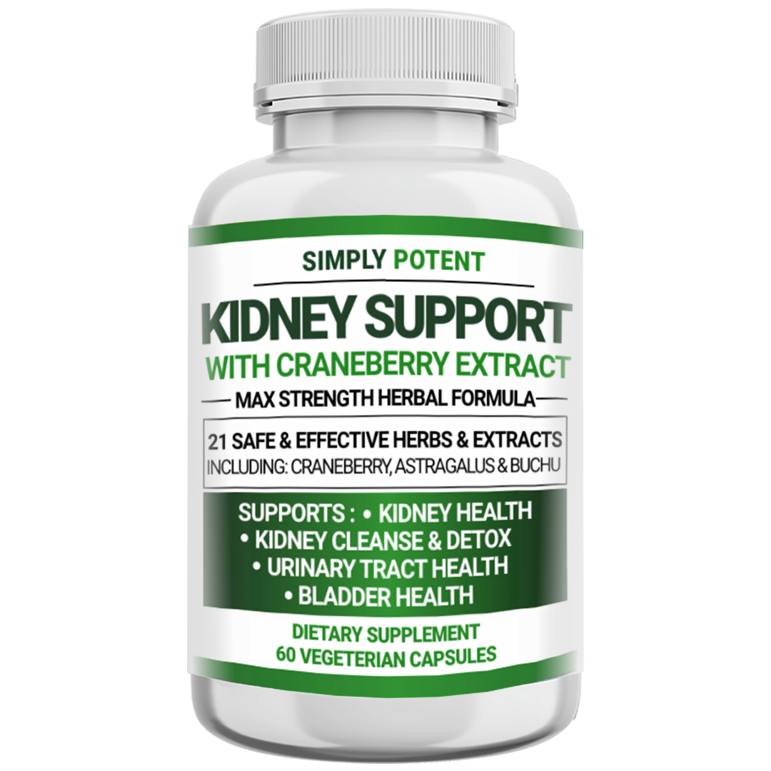 Kidney Support Restore Cleanse Detox Flush 705mg Capsule w Cranberry for UTI     7