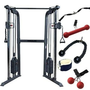 Body-Solid Powerline Functional Trainer - PFT100  Home Gym Package 160 lb Stack