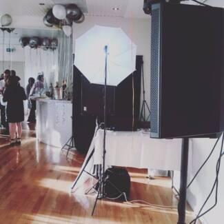 DJ Hire & Photobooths Melbourne
