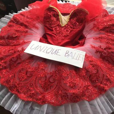 Ballerina Adult Costume (Adult Classic Ballet Tutu Costume Red Velvet Kids Ballerina Dance Platter)