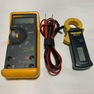 Fluke 73 Digital Multimeter Tester Yokogawa Clamp Digital Meter 300 Japan