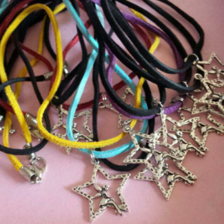 New Tinkerbell Fairy Necklaces  $1 each