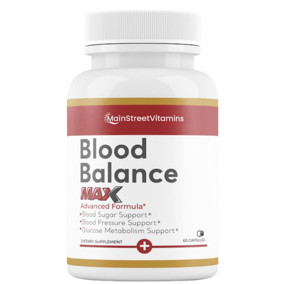 Blood Balance Max Formula - 60 Capsules