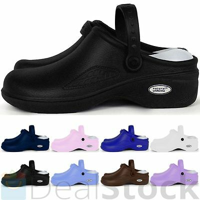 Medical Nursing Nurse Womens Comfortable Lightweight  Slip Resistant Clogs Shoes